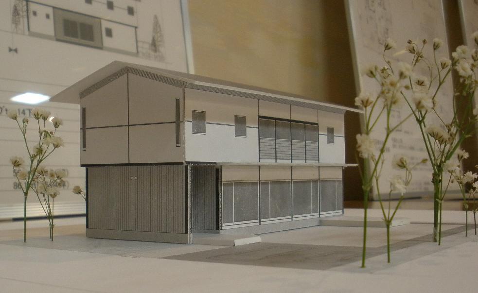 岡江建築設計事務所+CIRCLE 案模型