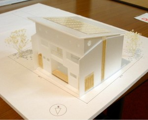 バイオ1級建築士事務所 案模型