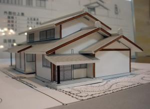 横山建築研究室 案模型